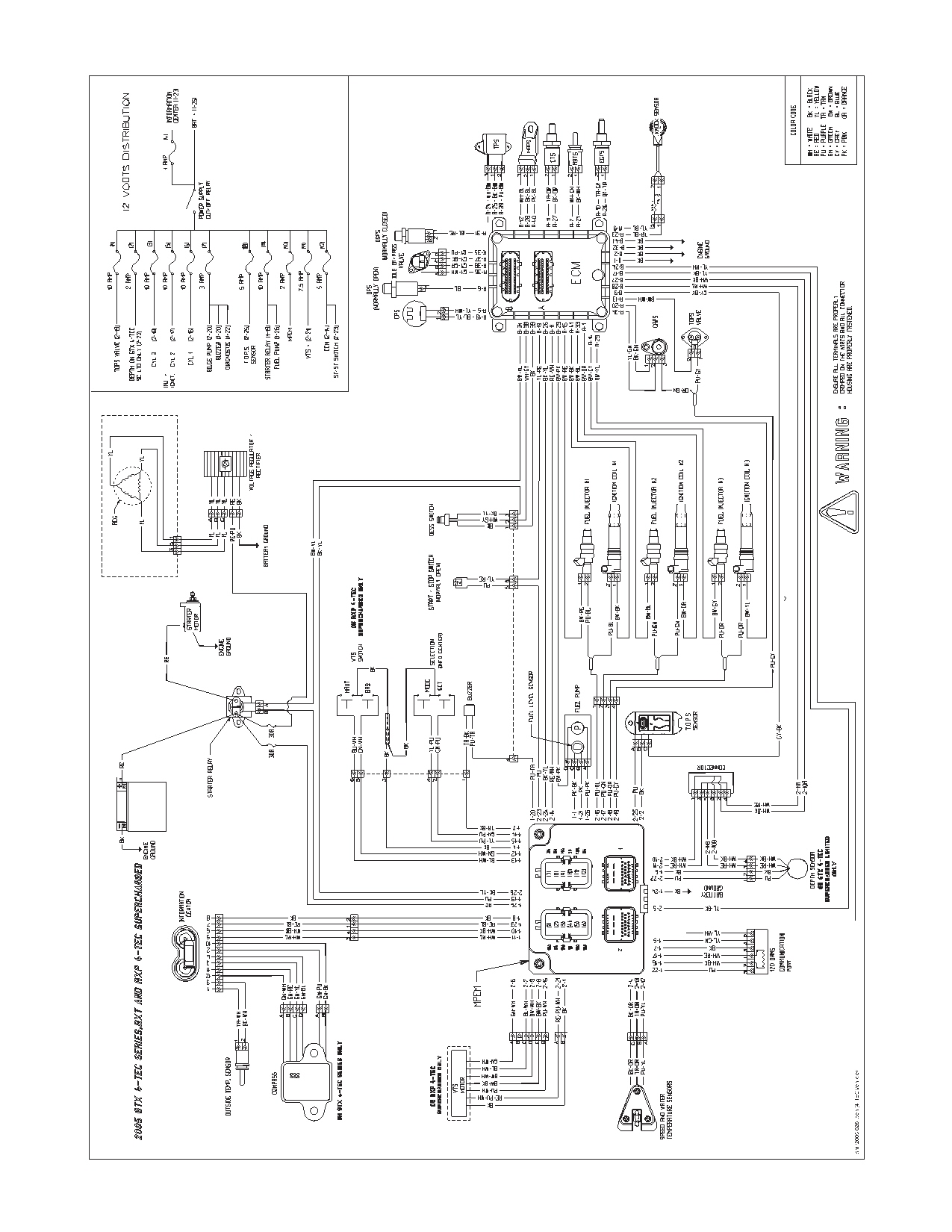 1996 sea doo gti wiring diagram