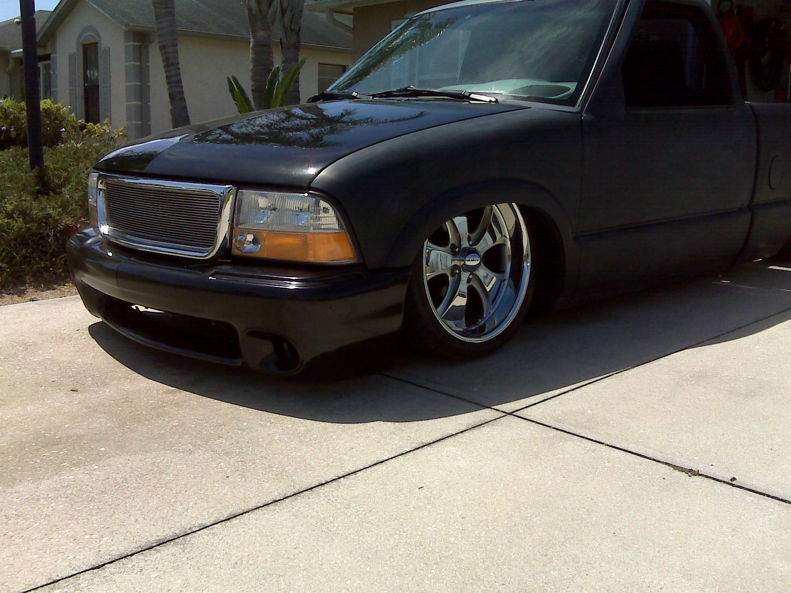 Bagged 99 Chevy S10