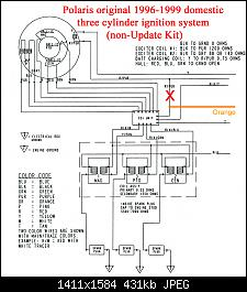 How to test CDI, Magneto stator coils & Hall Effect sensors ... Wiring Diagrams Polaris Hurricane on