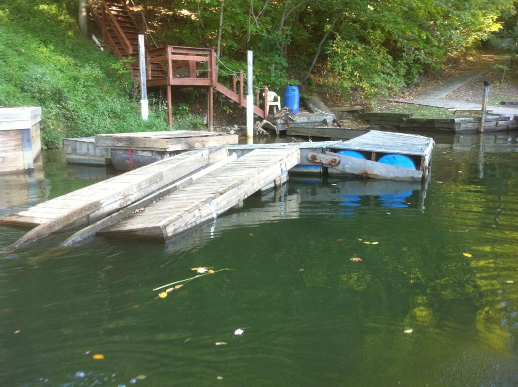 build your own floating dock?