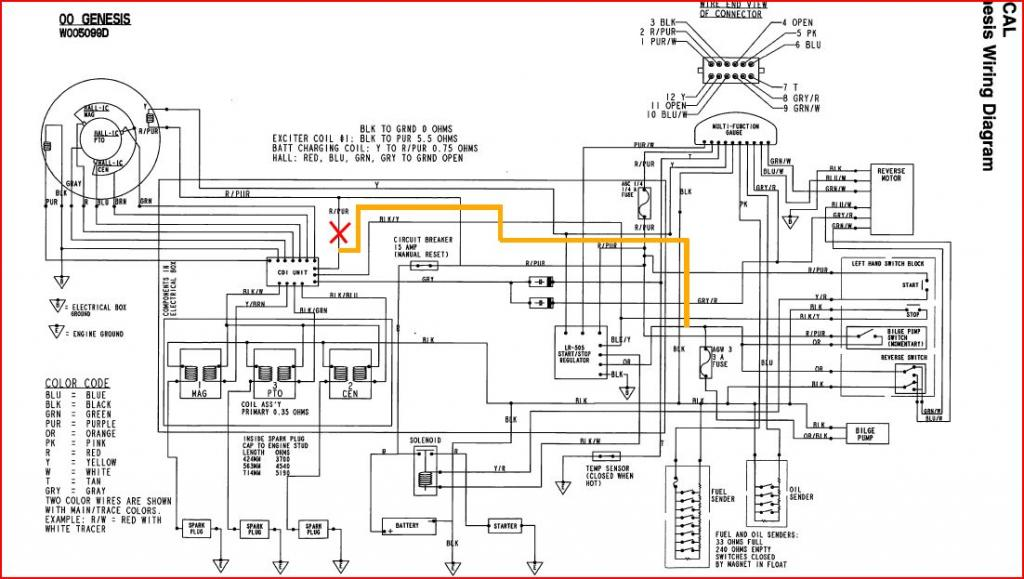 ev wiring diagram on
