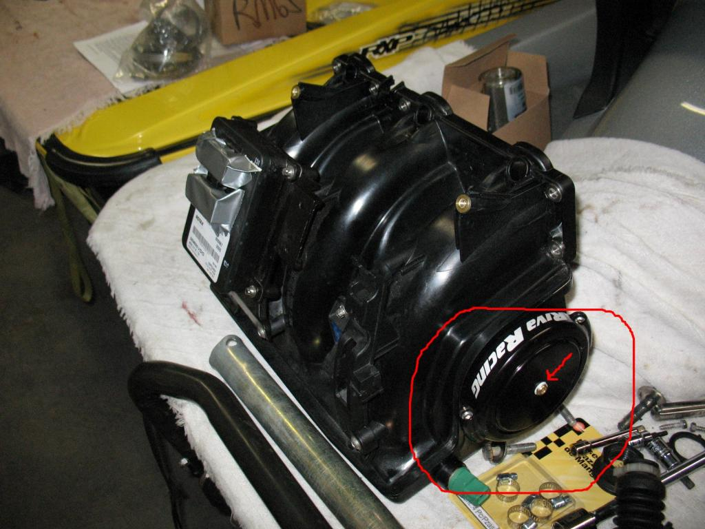 Removing flame arrestor from Intake Manifold - Page 4