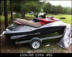 FS 2 jet skis and double trailer for sale Manning, SC Polaris