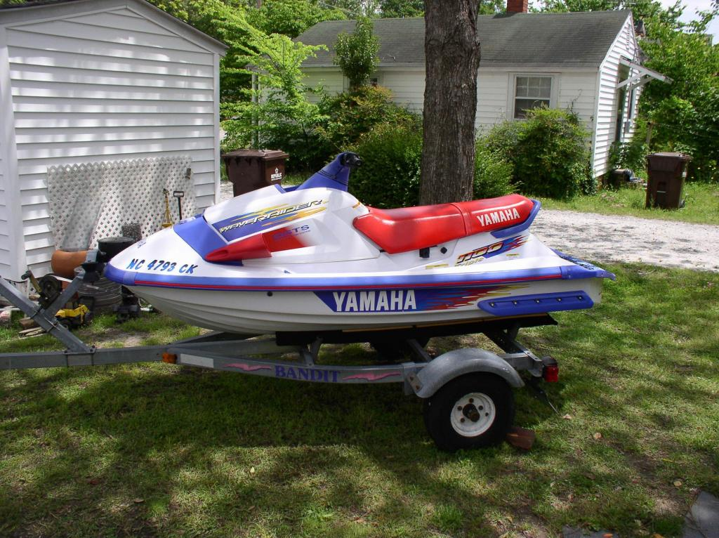 Yamaha Waveraider  Top Speed