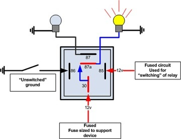 relay wiring diagram 5 pole relay wiring diagrams online