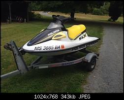 FS - Parts Polaris slx 1050 clean complete hull with extras