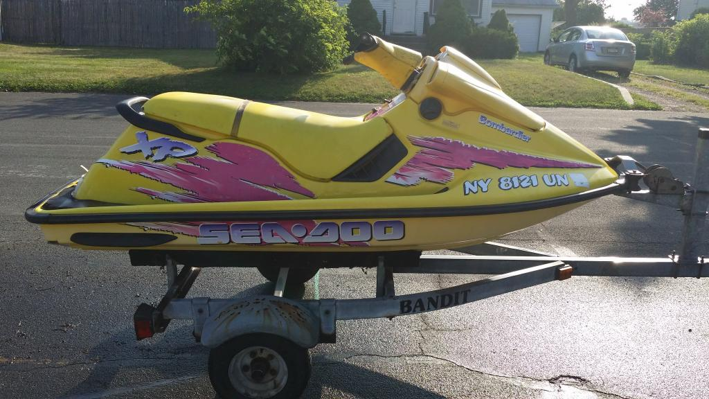 1996 Seadoo Xp >> Fs 1996 Seadoo Xp 787 With Bandit Trailer W All Paperwork 1000