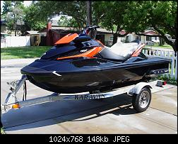 FS 2010 SEADOO RXT-X for Sale-Black/fire red, less than 40