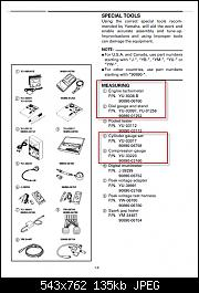 Complete Tool List Needed for 2002 XLT 1200 Engine Rebuild