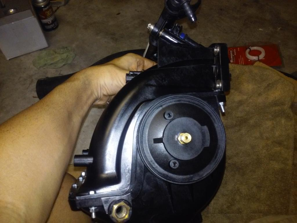 SOLD RXP X 260 intake manifold with stock injectors