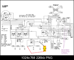 T1840397 Wiring diagram electric start dtr 125 likewise 2003 Polaris Sportsman 500 Wiring Diagram likewise 1992 Polaris Wiring Diagram together with Honda Atv Fuse Box besides Polaris Sport 400 Wiring Diagram. on polaris sportsman 500 efi fuse box