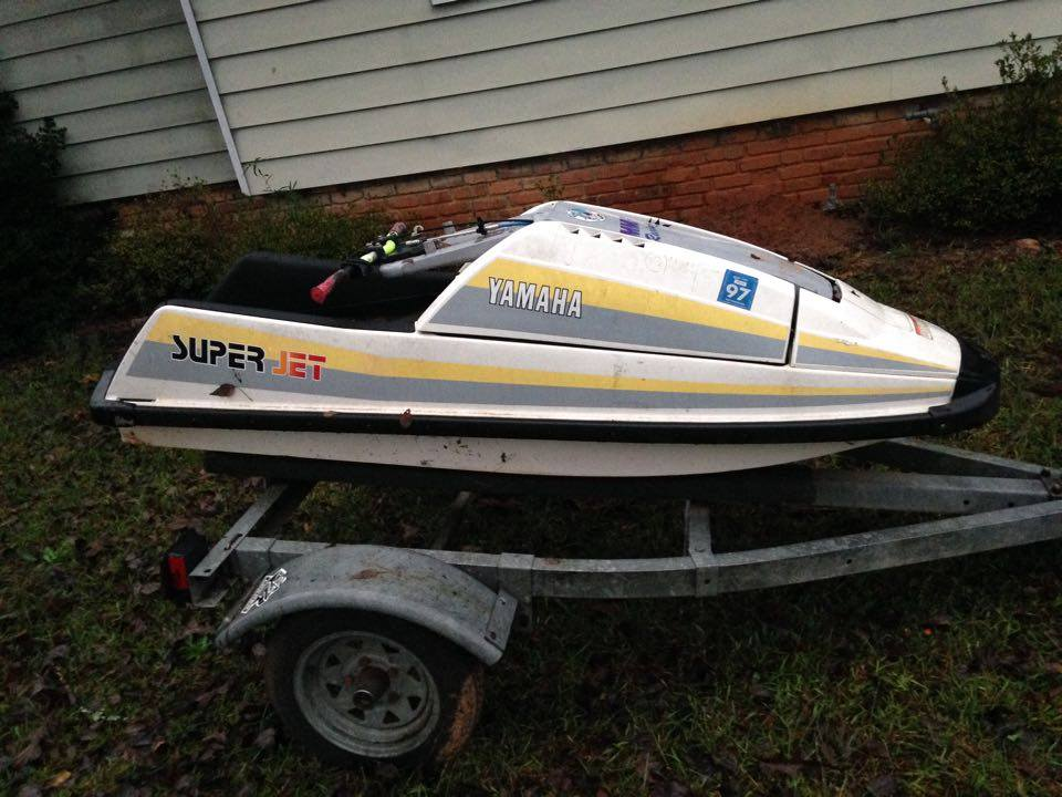 Fs 1990 yamaha superjet for Yamaha jet boat forum