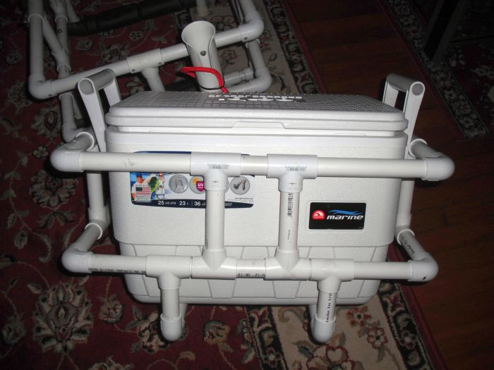 Build Your Own Cooler Rack