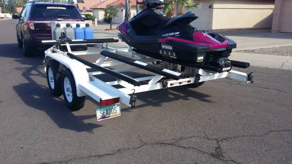 Double Jet Ski Trailer Twin 2 Place