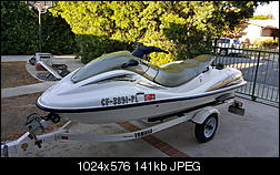 2000 Yamaha Waverunner SUV 1200 Four seater for sale