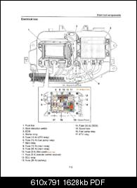 GP1800 Wiring diagram errors, Yamaha Factory service manual