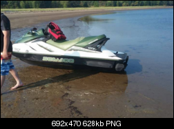 Seadoo gtx di 2002 seized on air pump