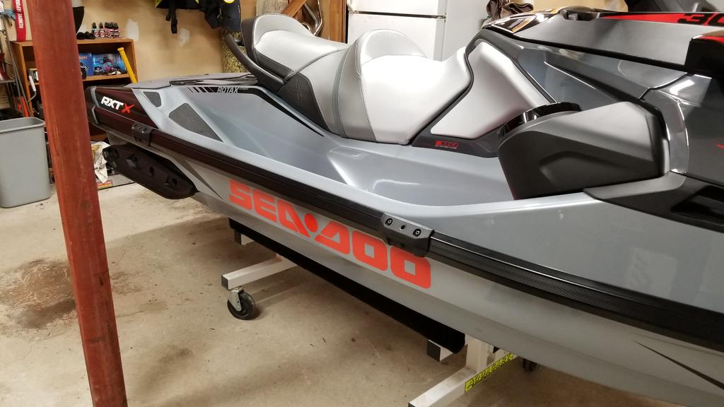 Seadoo Snap in Fenders on 2018 RXT-X 300