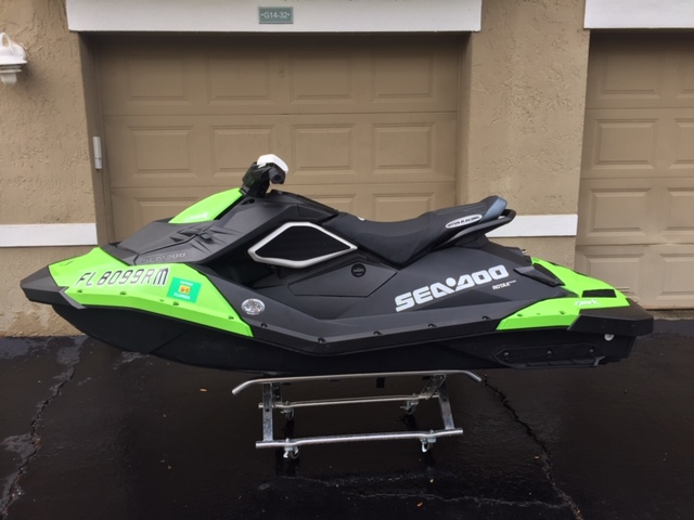 FS Seadoo Spark 110HP MY 2017 w/ Reflash, Seatcover and Hydroturf 31