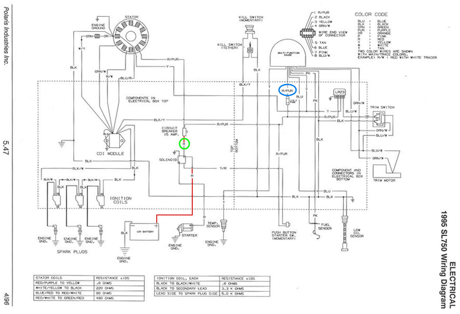 polaris wiring schematic