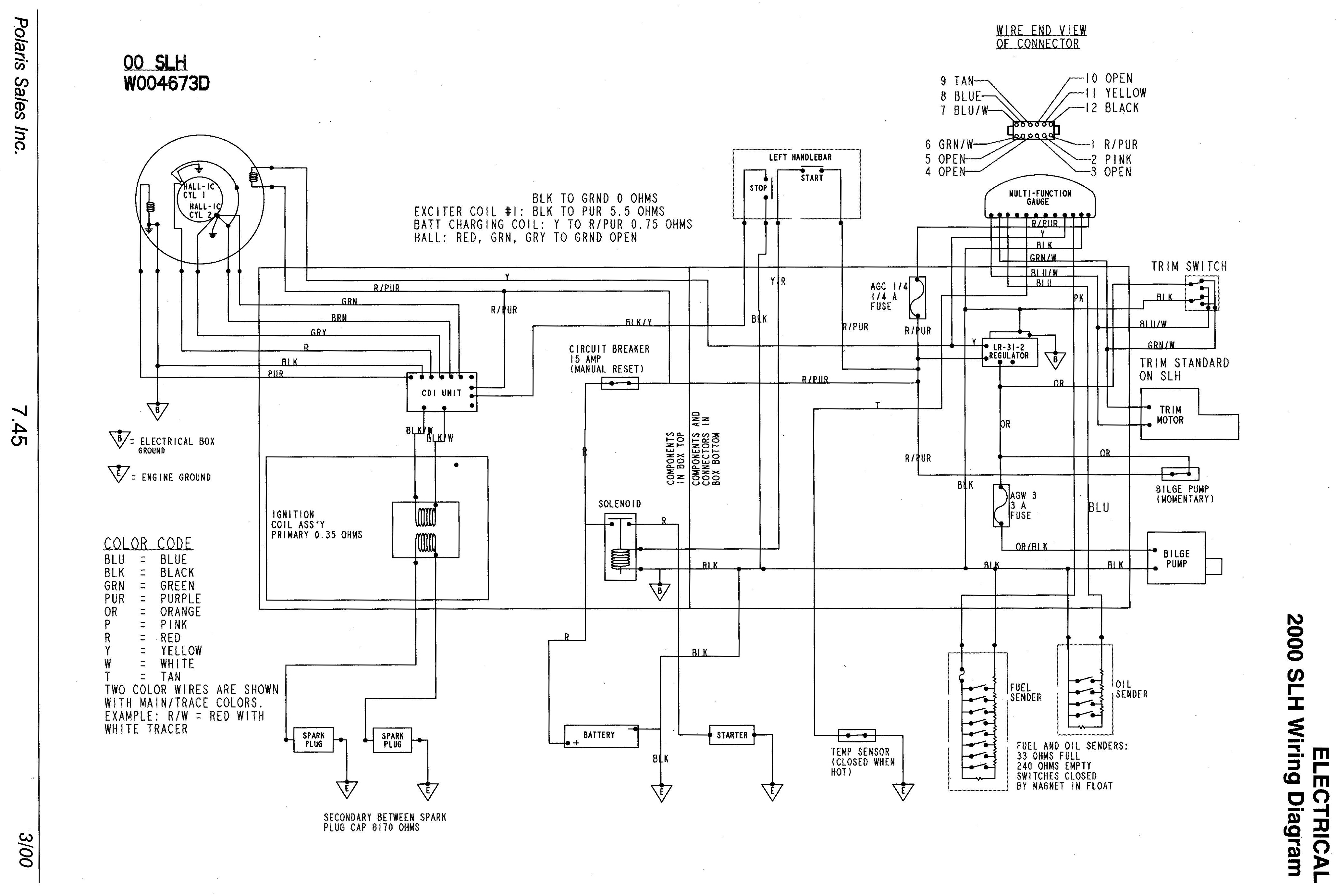 looking for wiring diagram for a 99 slh help