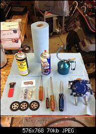 Click image for larger version.  Name:001 Tools and parts.jpg Views:517 Size:70.0 KB ID:331802
