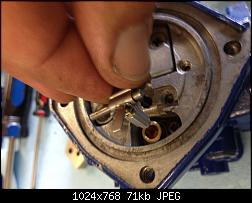 Click image for larger version.  Name:061 install lever pin and needle.jpg Views:175 Size:71.3 KB ID:331874