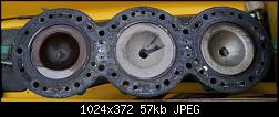 Click image for larger version.  Name:head and gasket fwd on left b.jpg Views:52 Size:56.9 KB ID:237477