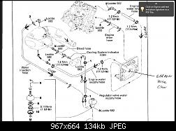 1998 Seadoo XP LTD Cooling system Diagram help?