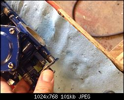 Click image for larger version.  Name:Close Choke and set carbs upside down.jpg Views:109 Size:100.6 KB ID:332193