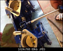Click image for larger version.  Name:085 Adjust Mag to Cen throttle plate linkage.jpg Views:123 Size:89.5 KB ID:332197