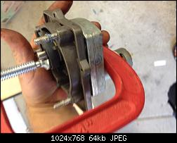Click image for larger version.  Name:009 Apply c clamp to remove spring pressure.jpg Views:71 Size:64.4 KB ID:335994