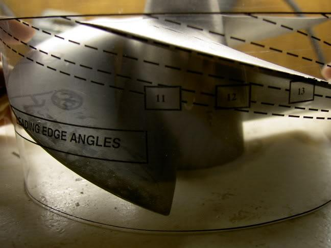 Make your own impellor gauge