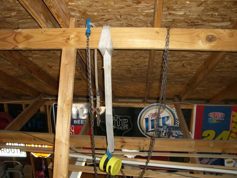 Who Has Installed A Chain Hoist Need Help