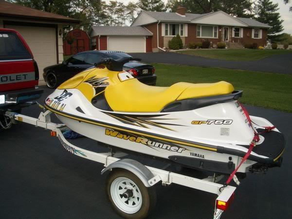 Cleanest 1997 gp760 on the planet for 97 yamaha waverunner 760 parts