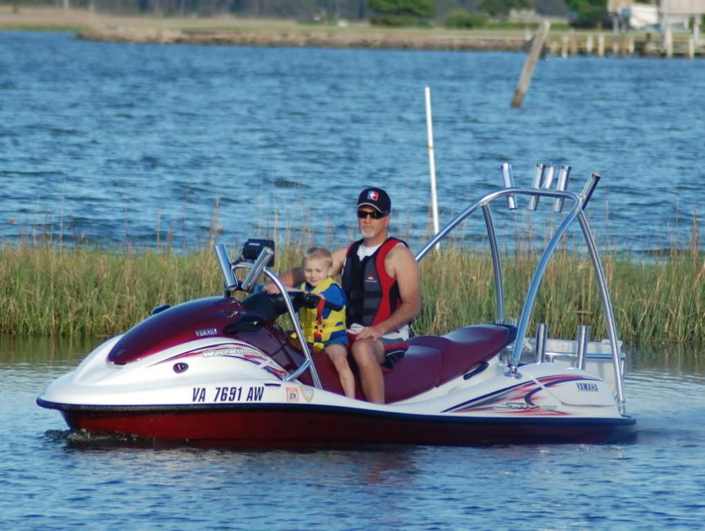 Jet ski fishing the flats for Best jet ski for fishing