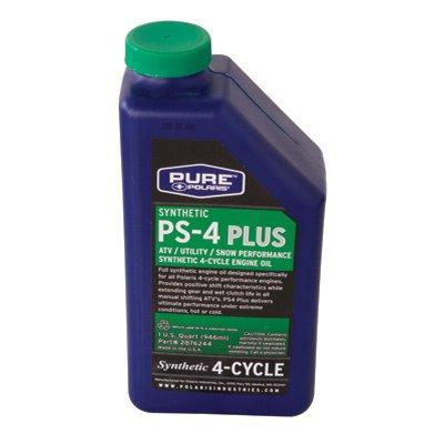 Polaris PS 4 Oil Is Meant For Use With Stroke Cycle Engines Only
