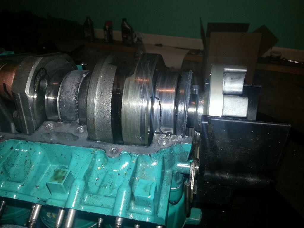 kawasaki zxi 1100 crank shaft noise help please