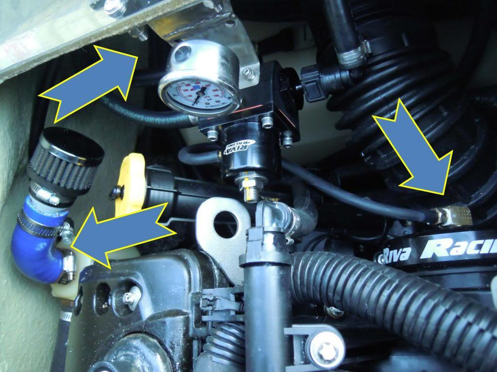 Webercarb as well D L How Do You Remove C B Fuel Line Fuel Pressure Regulator Image also  together with D Mallory Fpr Mounting Ideas Picture as well Attachment. on fuel pressure regulator location