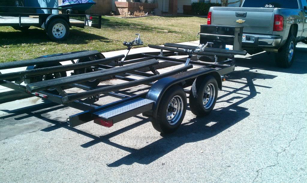 1989 Zieman Jet Ski Trailer Loading Zoom