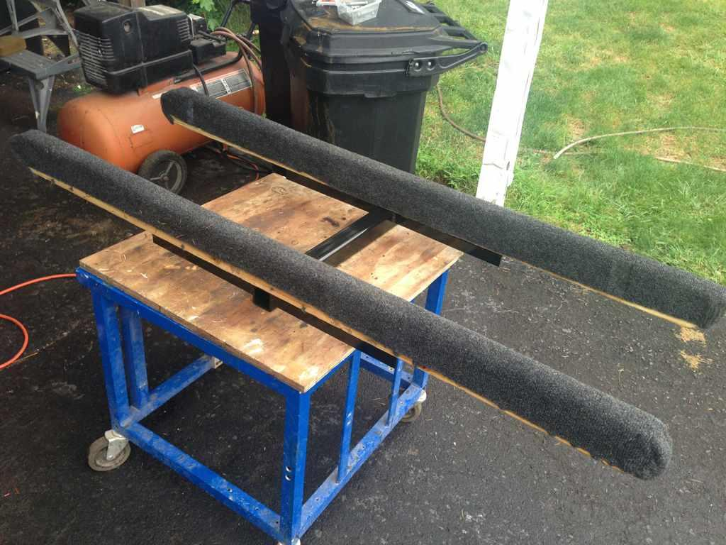 DIY hitch carrier for stand up pwcs